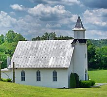 Dry Run Country Church by James Brotherton