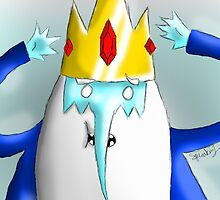 Ice King by squeaken1ART
