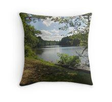 Triadelphia Reservoir Throw Pillow