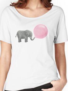 Jumbo Bubble Gum  Women's Relaxed Fit T-Shirt