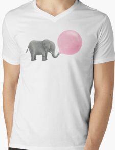 Jumbo Bubble Gum  Mens V-Neck T-Shirt