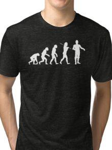 Evolution In A Galaxy Far, Far Away Tri-blend T-Shirt