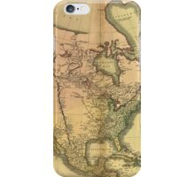 Map of North America by John Cary (1811) iPhone Case/Skin