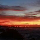 Sunrise in Oahu  by Maureen Clark
