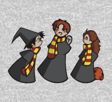 Harry, Ron and Hermione One Piece - Long Sleeve