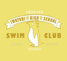 Free! Iwatobi Swim Club Shirt (Nagisa, Treasurer) yellow by renotology