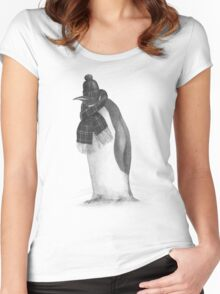 South Pole Essentials  Women's Fitted Scoop T-Shirt