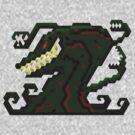 Godzilla Monsters - Biollante  by Joshua  Smyth