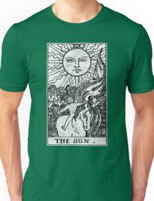 The Sun Tarot Card - Major Arcana - fortune telling - occult Unisex T-Shirt