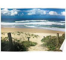 Park Beach Out-look - Coffs Harbour Poster