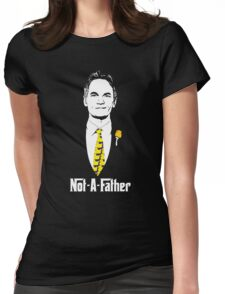 Not-A-Father (Ducky Tie Variant) Womens Fitted T-Shirt