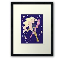 Rocking out Framed Print