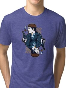 Capt Jack of Hearts Tri-blend T-Shirt