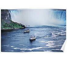 Scenic Boat Tour of Niagara Falls Poster