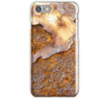 Underneath the hard exterior iPhone Case/Skin