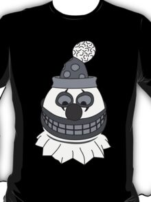 Pint Sized Slasher Mask (B&W) T-Shirt