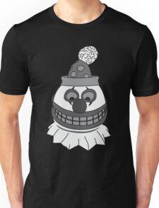 Pint Sized Slasher Mask (B&W) Unisex T-Shirt