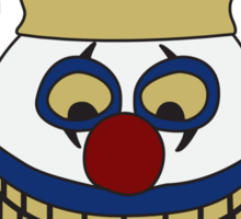 Pint Sized Slasher Mask (Color) Sticker