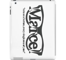 Marcel iPad Case/Skin