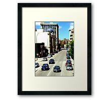 Minipeg Framed Print