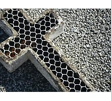 Wired Cross Photographic Print