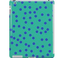 Blue On Green iPad Case/Skin