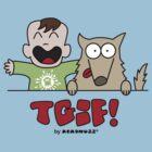 TGIF - Happy Luke and Dog by Kokonuzz