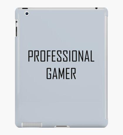 professional gamer iPad Case/Skin