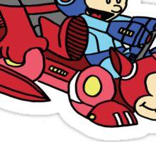 Proto and Mega Sticker