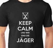 Keep Calm Und Wir Sin Die Jäger (Training Squad) Unisex T-Shirt