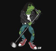 Frog N Roll Highschool Kids Tee