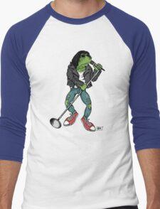 Frog N Roll Highschool Men's Baseball ¾ T-Shirt
