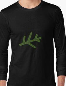 Green Elder Sign Long Sleeve T-Shirt