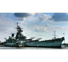USS Battleship New Jersey Photographic Print