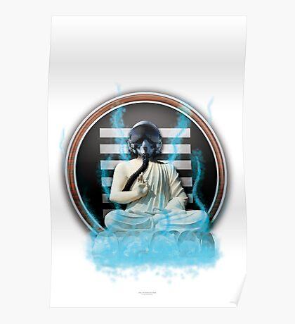 Space Buddha Returns!  Poster/Print Poster