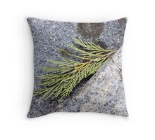 Cedar Leaf Throw Pillow