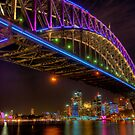 Vivid Bridge by Erik Schlogl