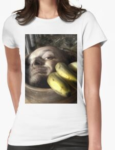 Rise of Bananafingers Womens Fitted T-Shirt