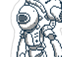 Pixel Mech - Usagi Sticker