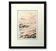 Drifting Framed Print