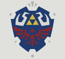 Hyrulian Shield (Borderless) by Oddisy