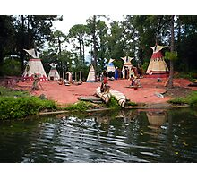 RIVER BOAT WALT DISNEY WORLD ORLANDO FLORIDA JULY 2013 Photographic Print