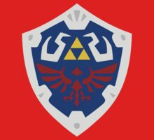 Hyrulian Shield (Bordered) by Oddisy