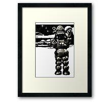 Robby the Robot Framed Print