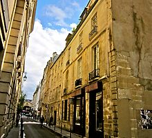 A little lane in Paris by Marshall Thurlow