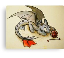 How to train your dragon- Toothless Canvas Print