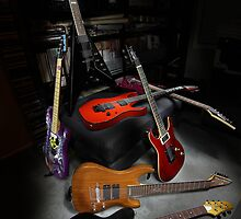 Ibanez and ESP Electric Guitars by HoskingInd