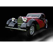 1937 Bugatti Type 57 SC Atalante Coupe V Photographic Print