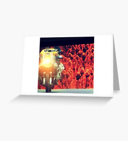 """""""tour"""" from TV - 3 Greeting Card"""