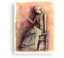 Antiquity: Greek Goddess Canvas Print